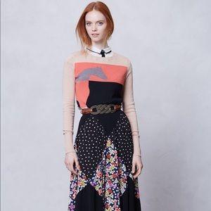 Maeve Diamond Mosaic Midi Skirt, Medium
